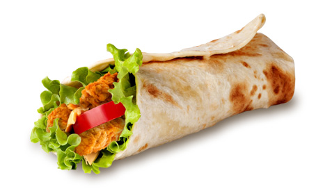 Produktbild Wrap Spicy
